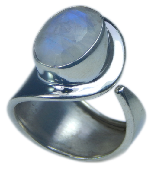 SKU 21708 - a Moonstone Rings Jewelry Design image