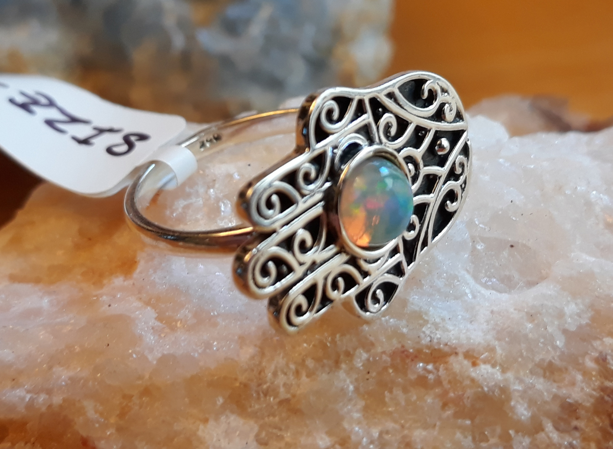 SKU 22128 - a Opal rings Jewelry Design image