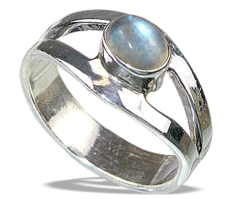 SKU 8632 - a Moonstone rings Jewelry Design image