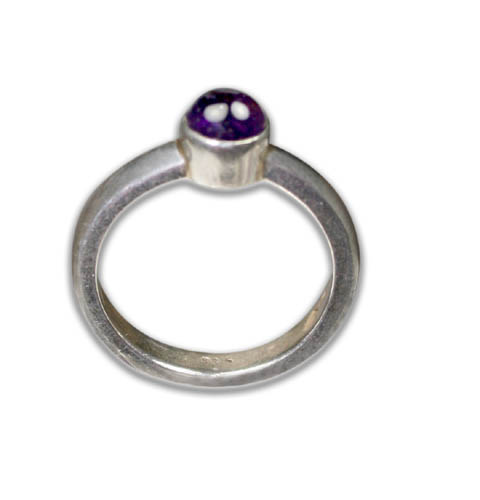 SKU 8744 - a Amethyst rings Jewelry Design image