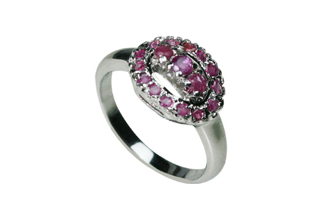 SKU 8983 - a Ruby rings Jewelry Design image