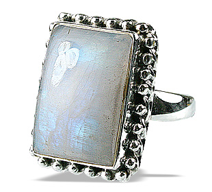 SKU 9169 - a Moonstone rings Jewelry Design image