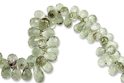 SKU 13813 - a Green Amethyst beads Jewelry Design image