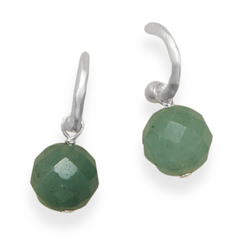 SKU 21926 - a Aventurine earrings Jewelry Design image