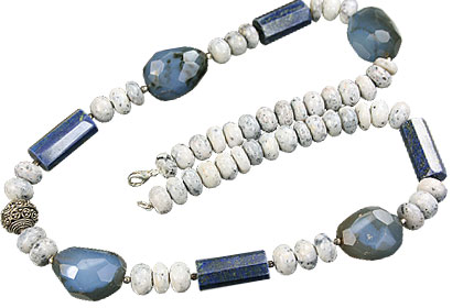 SKU 14824 - a Lapis lazuli Necklaces Jewelry Design image