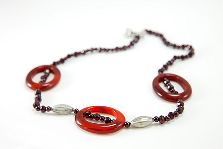SKU 17275 - a Carnelian Necklaces Jewelry Design image