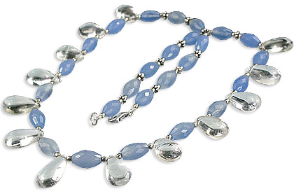 unique Chalcedony Necklaces Jewelry for design 14537.jpg