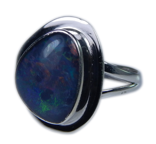 SKU 21269 - a Opal Rings Jewelry Design image