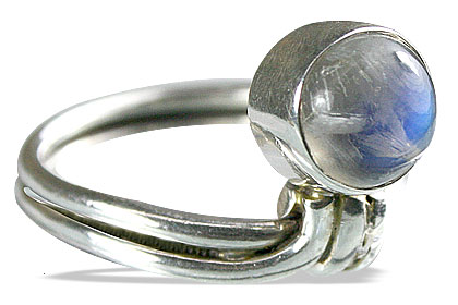 SKU 8479 - a Moonstone rings Jewelry Design image