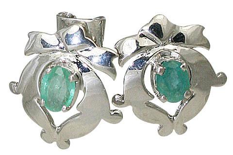 Art – Deco Emerald Earrings