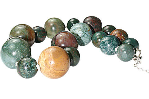Chunky Bloodstone Necklaces 2