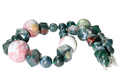 Chunky Bloodstone Necklaces 3