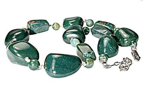 Chunky Bloodstone Necklaces 6