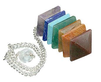 Multistone Chakra Pendulum