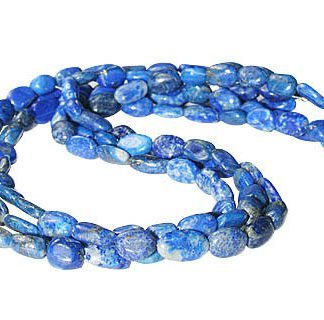 Multistrand Lapis Lazuli Necklaces