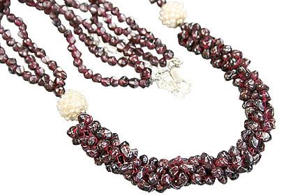 Garnet Necklaces 2