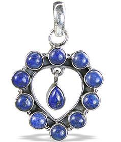 Drop Lapis Lazuli Pendants 2