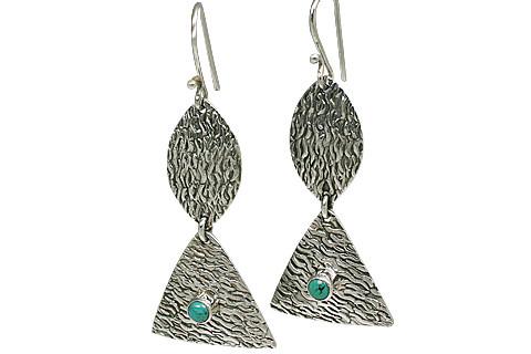 Estate Turquoise Earrings