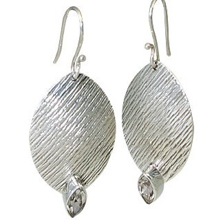 White Topaz Earrings 2
