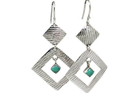 Art-deco Turquoise Earrings 2