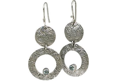 Art-deco Aquamarine Earrings