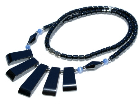 Contemporary Hematite Necklaces