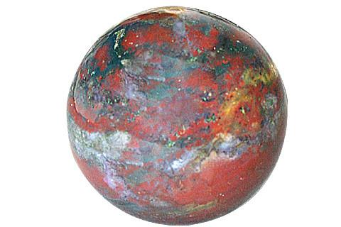 Healing Bloodstone Sphere