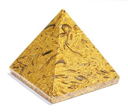 Fossil Jasper Pyramid