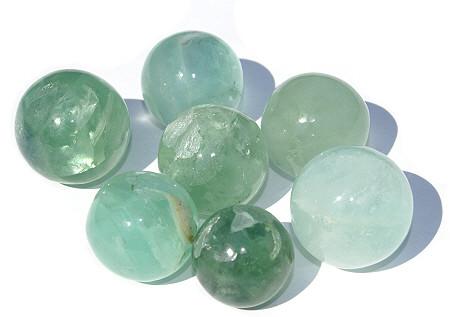 Green Fluorite Healing Sphere