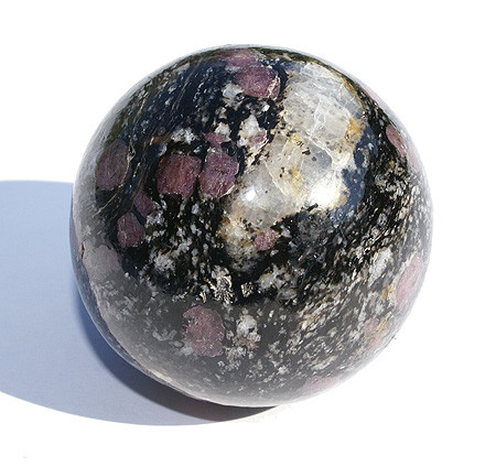 Fuschite Spinel Healing Sphere (2″)