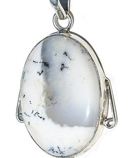 Dendrite Opal Pendants