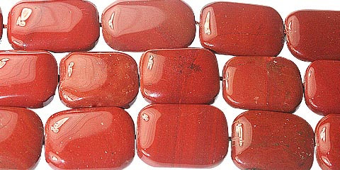 Red Jasper Beaded Beads 17 Inches