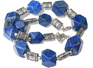 Chunky Lapis Lazuli Necklaces 2