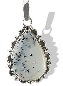 American-southwest Dendrite Opal Pendants