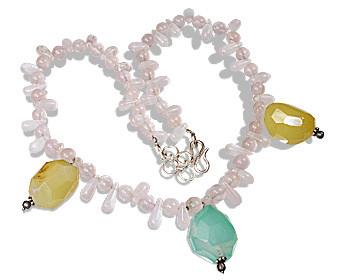 Rose Quartz Necklaces 3