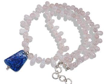 Rose Quartz Necklaces 4