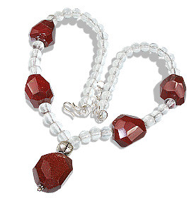 Chunky Crystal Necklaces 4