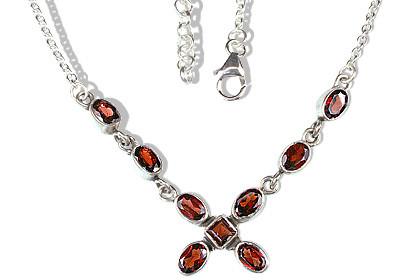 Contemporary Garnet Necklaces