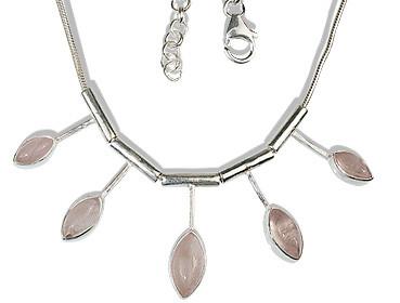 Rose Quartz Necklaces 5