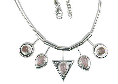 Rose Quartz Necklaces 6