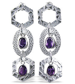 Iolite Earrings 2