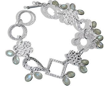 Contemporary Labradorite Bracelets