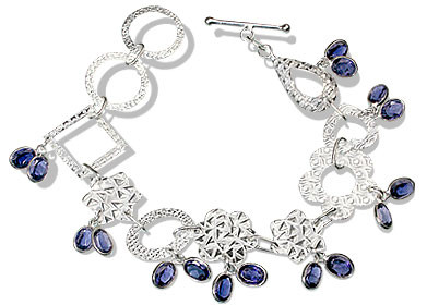Contemporary Iolite Bracelets