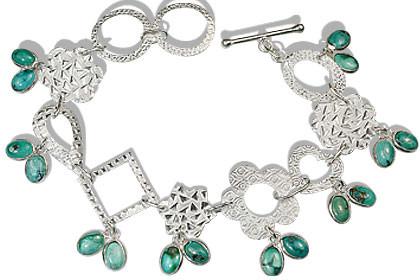 Contemporary Turquoise Bracelets
