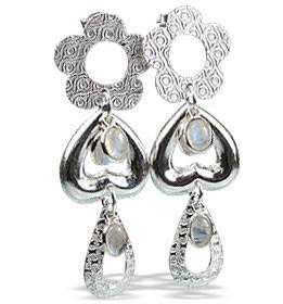 Contemporary Moonstone Earrings 2