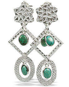 Contemporary Turquoise Earrings 2
