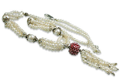 Pearl And Garnet Necklace 6