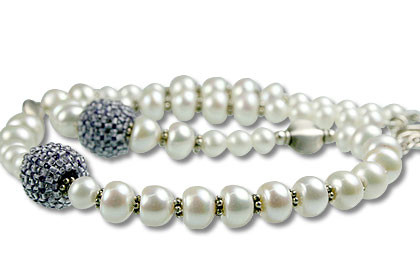 Pearl And Iolite Necklace 4
