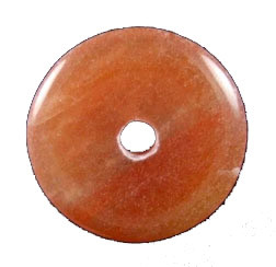 Red Aventurine Donut Pendant