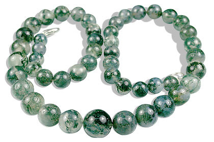 Classic Moss Agate Necklaces